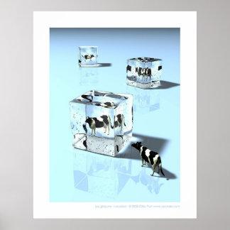 Glaçons - Icecubes Poster