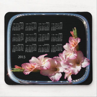 Glad Calendar framed ~ mousepad