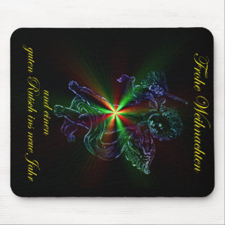 Glad Christmas a good slide in the new year Mouse Pad