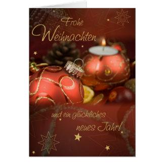 Glad Christmas Card