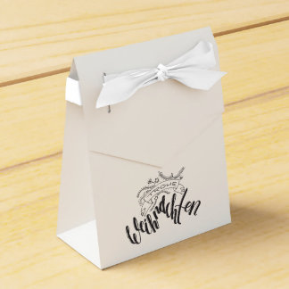Glad Christmas - hand Latvian ring Favor Box