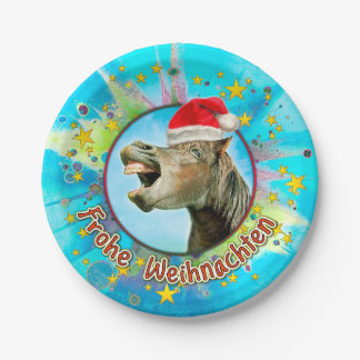 Glad Christmas Paper Plate