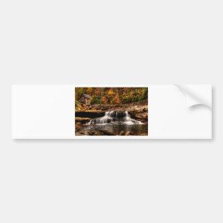glade creek mill bumper sticker