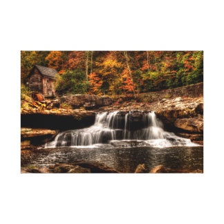 Glade Creek Mill Canvas