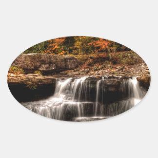 glade creek mill oval sticker