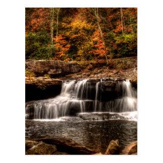 glade creek mill postcard