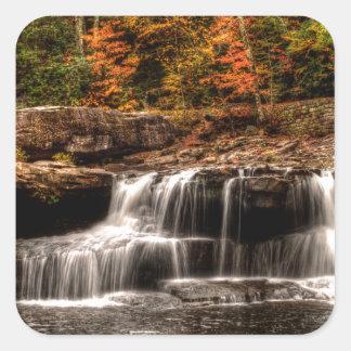 glade creek mill square sticker
