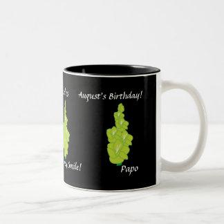 Gladiolus August's Mug-Customize Two-Tone Coffee Mug