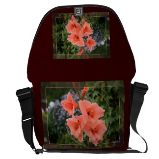 Gladiolus Messenger Bags