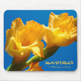 Gladiolus Mouse Pad