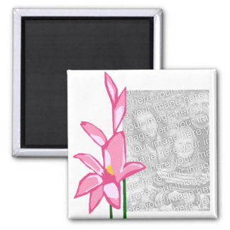 Gladiolus strength of character template magnet