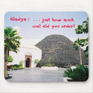Gladys/Coal Mouse Pad