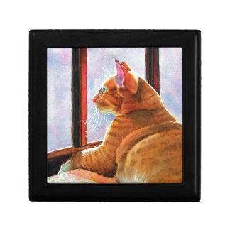 Gladys Orange Tabby Gift Box