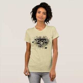 Glam Boom Bang Dark Paint Splat T-Shirt