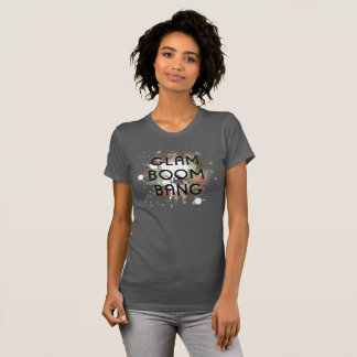 Glam Boom Bang Light Paint Splat T-Shirt