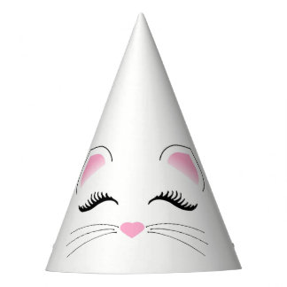 Glam Cat Birthday Party Hat
