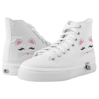 Glam Cat Face High Tops