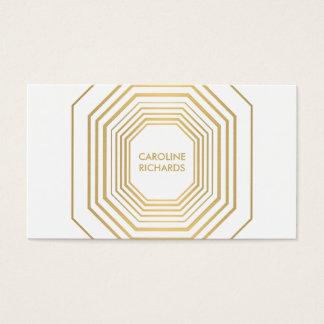 Glam Deco Jewelry Design Fashion Boutique No. 2 Business Card