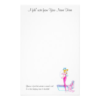 Glam' Gal! Personalized Stationery