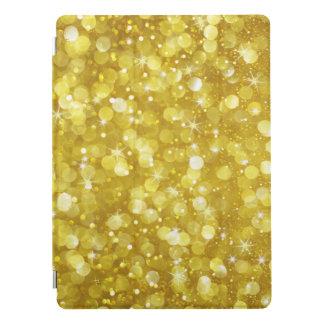 Glam Gold Bokeh Glitter & Sparkles iPad Pro Cover