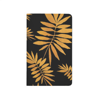 Glam gold fern journal
