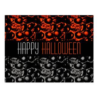 Glam Happy Halloween Postcard