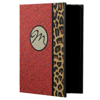 Glam Jaguar And Red Glitter iPad Air 2 Case