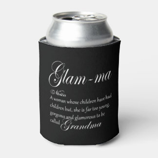 GLAM MA grandma definition Can Cooler