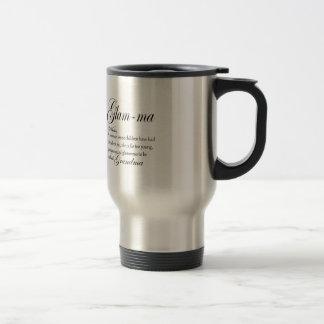 GLAM MA grandma definition Travel Mug