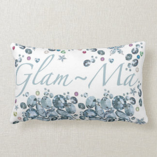 Glam-Ma Lumbar Throw Pillow