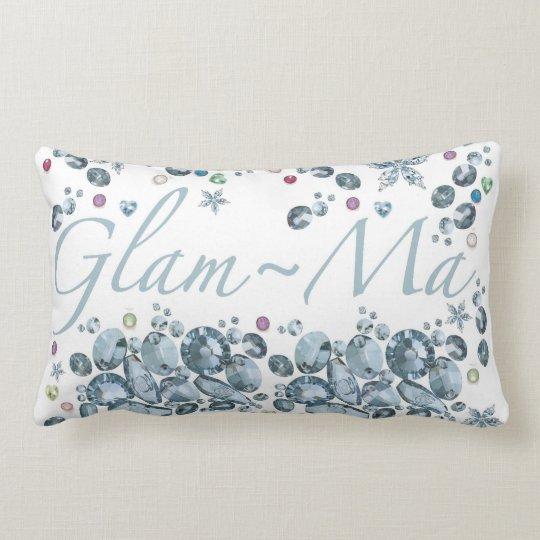 Glam-Ma Lumbar Throw Pillow