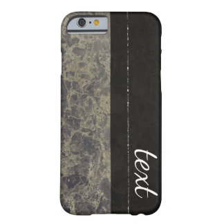 Glam Marble Granite Shimmer Elegant Designer Style Barely There iPhone 6 Case