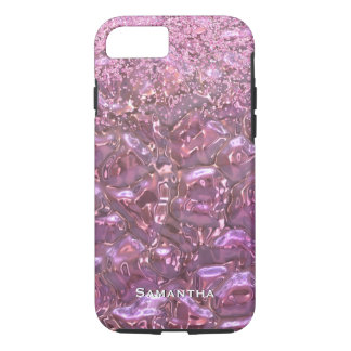 Glam Pink Glow iPhone 7 case