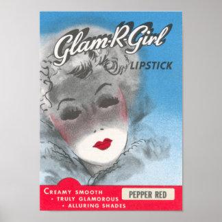 Glam R Girl Print