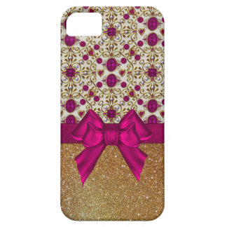 Glam Rubies and Gold iPhone 5S Case