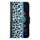 Glam Snow Leopard iPhone 6 Wallet Case