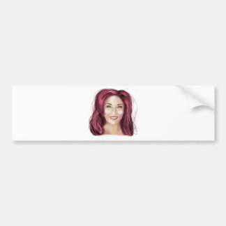 Glam Squad Bumper Sticker