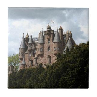 Glamis Castle Tile