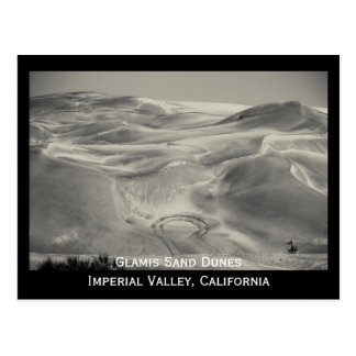 Glamis Sand Dunes Desert Imperial Valley Photo Postcard