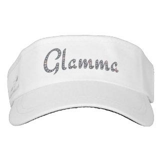 Glamma bling visor/cap visor