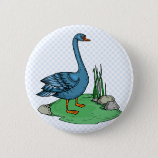 Glamma Goose 2 Inch Round Button