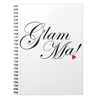 GlamMa Spiral Notebook