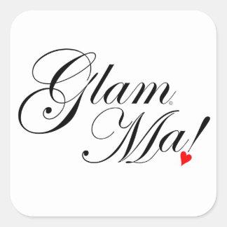 GlamMa Square Sticker