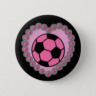 Glamor soccer ball pin