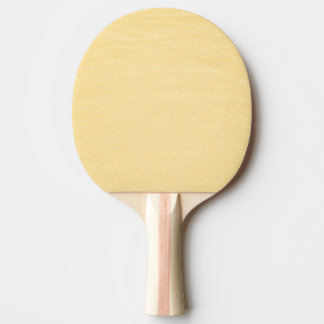 Glamorous Gold Color Ping Pong Paddle