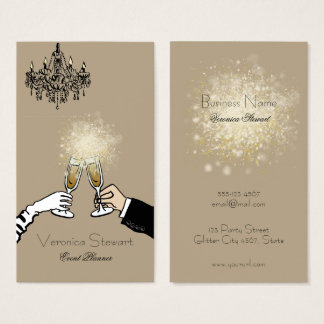 Glamorous Luxury Sparkling Business Business Card