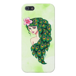 Glamorous Peacock Goddess iPhone 5/5S PLUS Case iPhone 5/5S Cases