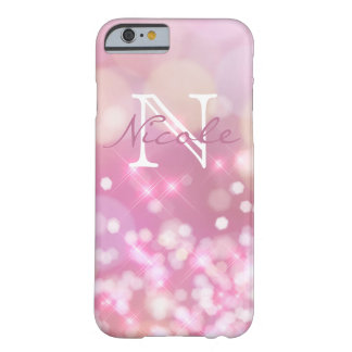 Glamorous pink Sparkles Monogram Phone Case