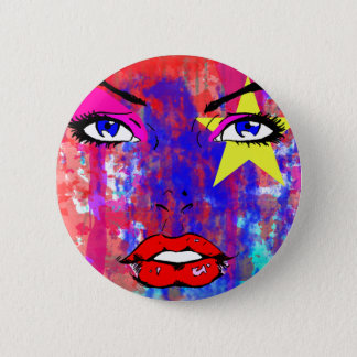 Glamour 2 Inch Round Button