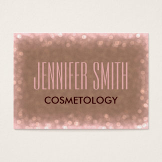 Glamour Cosmetology Hairdresser Salon Appointment Business Card